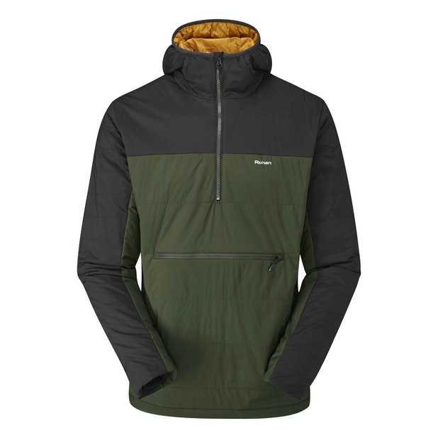 Icepack Overhead - Medium weight, water-repellent pull-over style jacket.