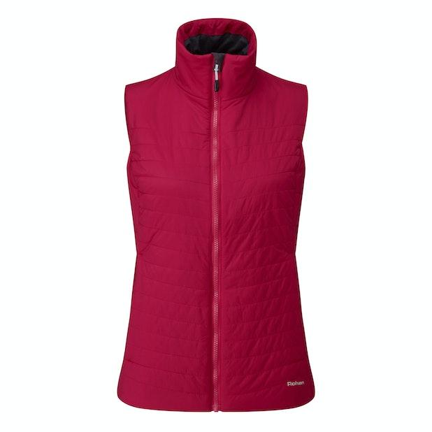Icepack Vest - Lightweight, water-repellent wadded vest.
