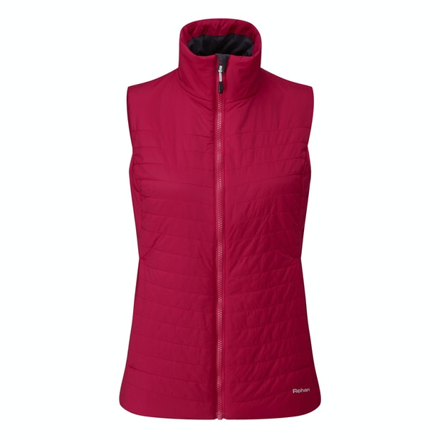 Icepack Vest - Lightweight, water-repellent wadded vest.