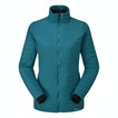 Viewing Icepack Jacket - Long length water-repellent wadded jacket.