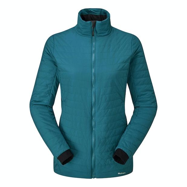 Icepack Jacket - Long length water-repellent wadded jacket.