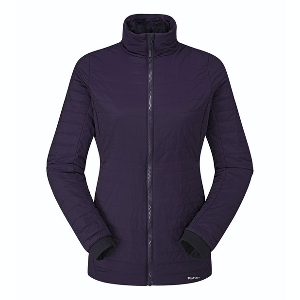 Icepack Jacket - Long length water-repellent wadded jacket.