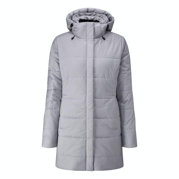 Cocoon Coat - Insulated, water-repellent coat for cold weather.
