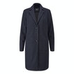 Viewing Islay Coat - Wadded premium Italian wool blend washable coat.