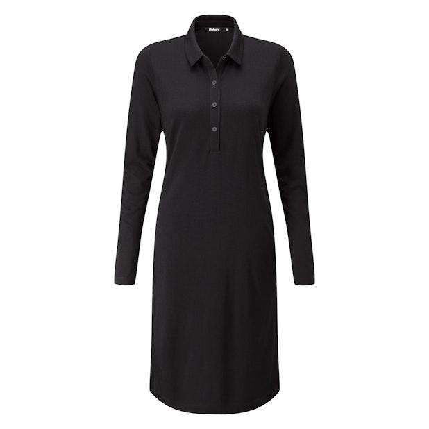 Merino Union 200 Shirt Dress - Technical wool travel dress