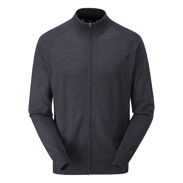 Extrafine Merino Zip Jacket - Classic, 100% merino zip jacket.