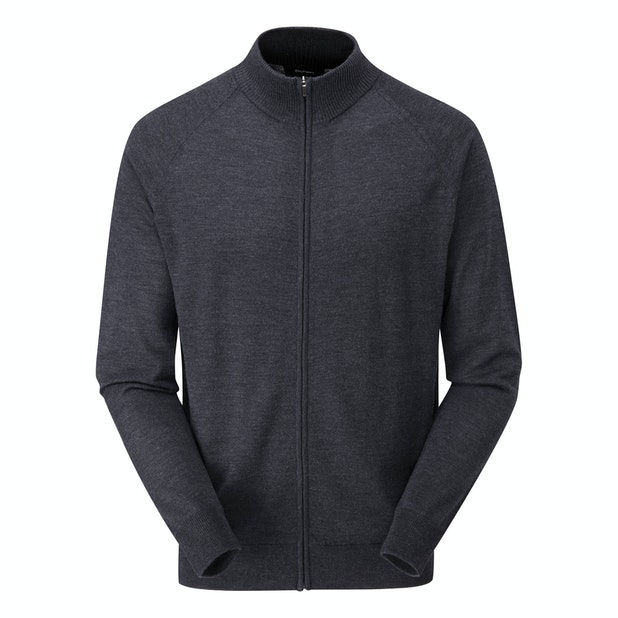 Extrafine Merino Zip Jacket - Classic, 100% merino zip jacket.