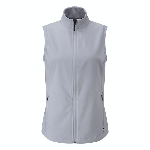 Troggings Vest - Warm, water-repellent stretch gilet for active outdoor use.