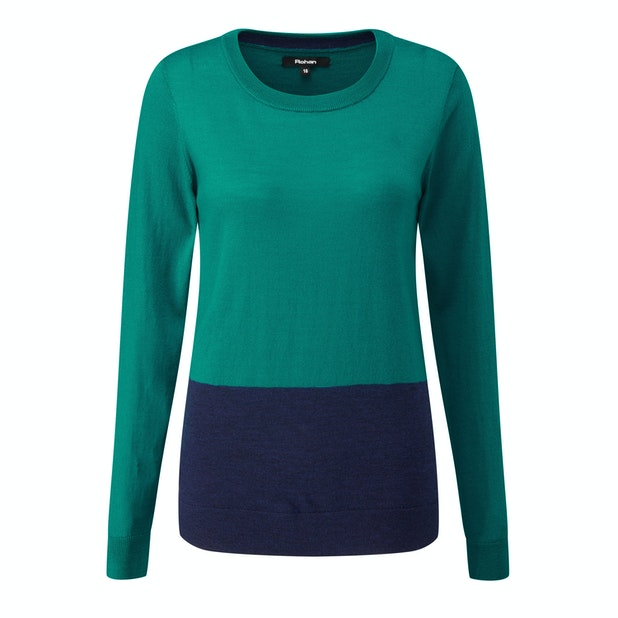 Extrafine Merino Knitted Top - Luxuriously soft, 100% extrafine merino wool top.