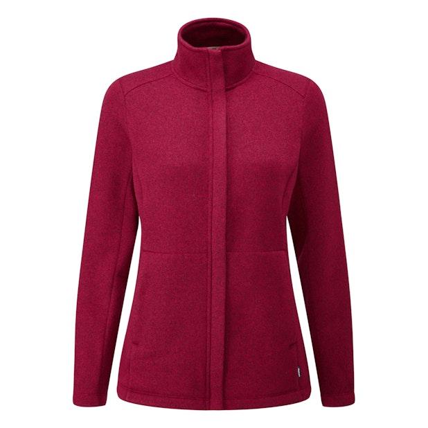 Pathway Jacket - Technical knit effect fleece cardigan.