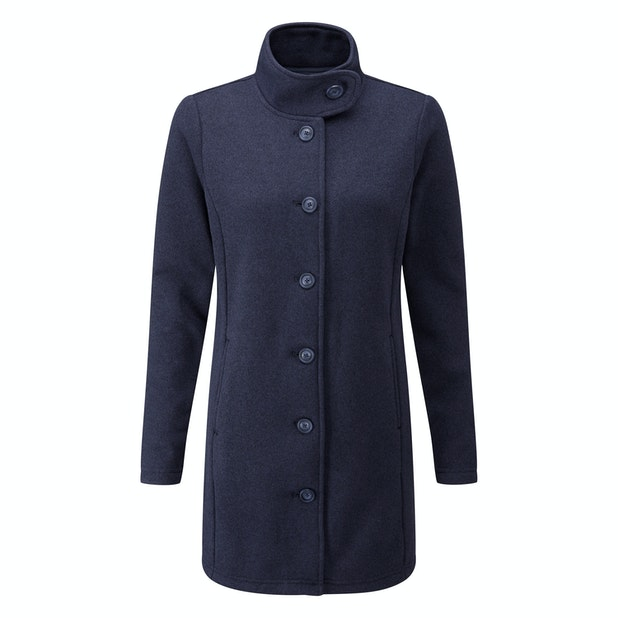 Ridgeway Cardi - Full length cardi made from a technical fleece.