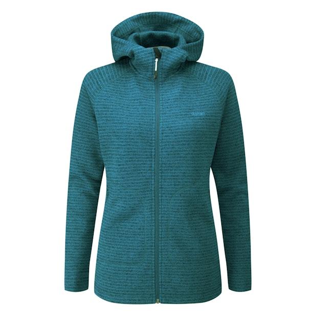 Boundary Jacket - Long length hooded fleece jacket.