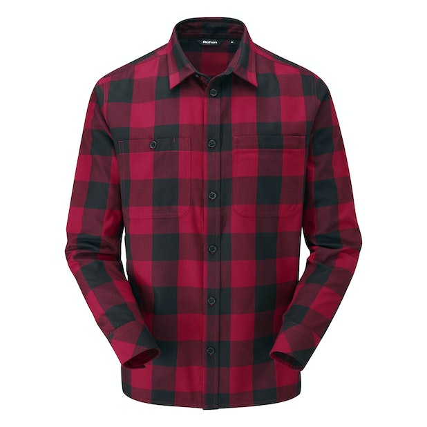 Crosscheck Shirt - Warm, technical travel shirt.
