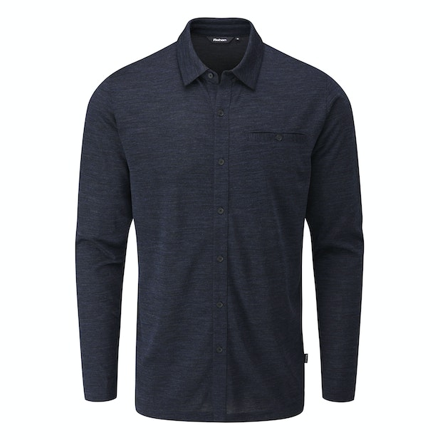 Merino Union 150 Shirt - Versatile merino blend travel shirt.