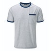 View Stria Pocket T - Chalk Blue Stripe