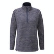 View Quayside Zip Jumper - French Blue Marl