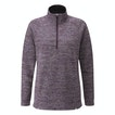 Viewing Quayside Zip Jumper - Relaxed, casual fleece with a half-zip opening.