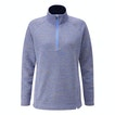 View Quayside Zip Jumper - Blue Haze Marl