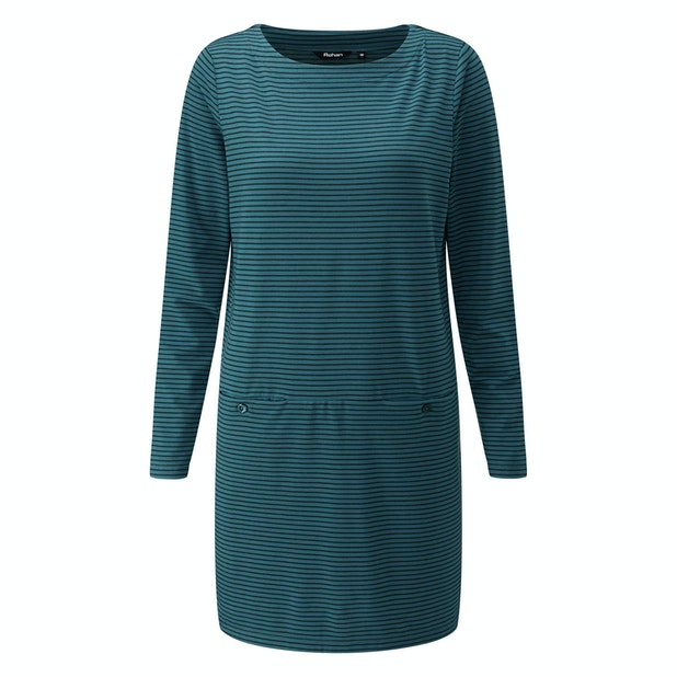 Stria Tunic - Cotton-feel tunic top made from a technical fabric.