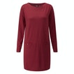 Viewing Stria Tunic - Cotton-feel tunic top made from a technical fabric.