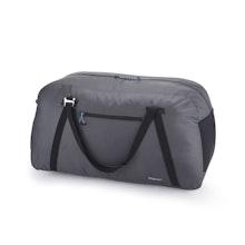 Packable duffle bag.