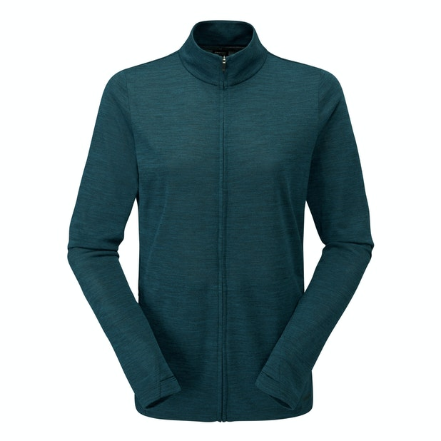 Merino Union 150 Zip Jacket - Super soft merino zip top.