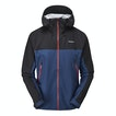 View Momentum Jacket - Coal/Pacific Blue