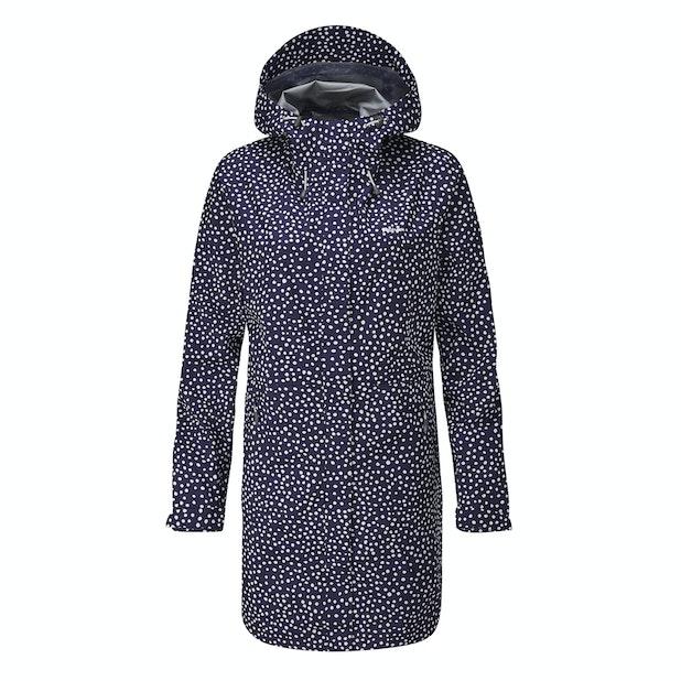 Vapour Trail Long Print Jacket - Lightweight, packable waterproof jacket.