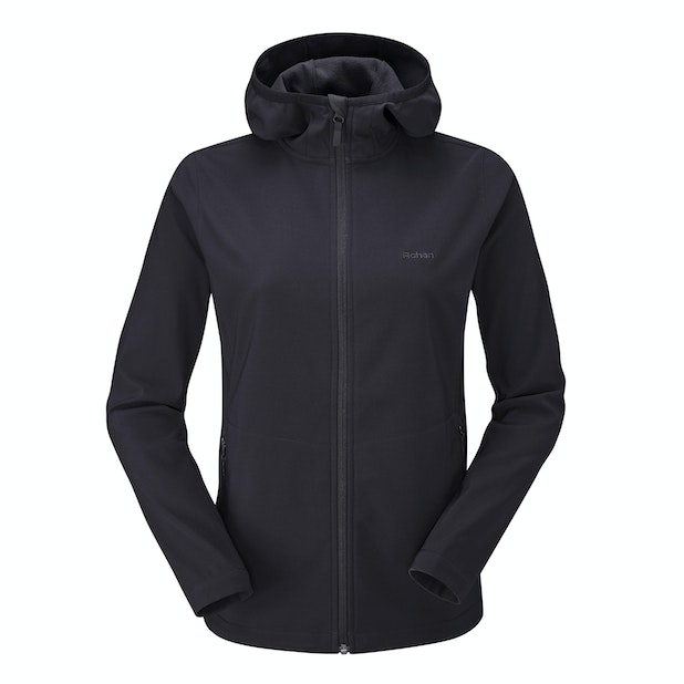 Troggings Jacket  - Warm, water-repellent stretch softshell for active outdoor use.