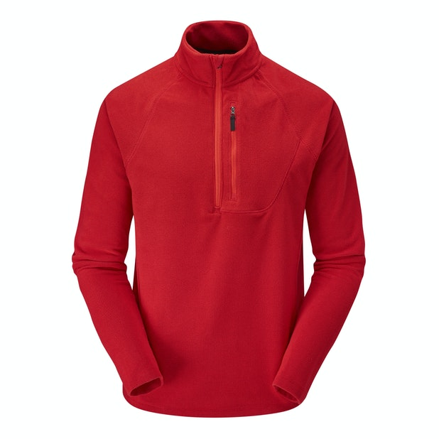 Microgrid Stowaway Zip - Multi-purpose technical fleece mid-layer.