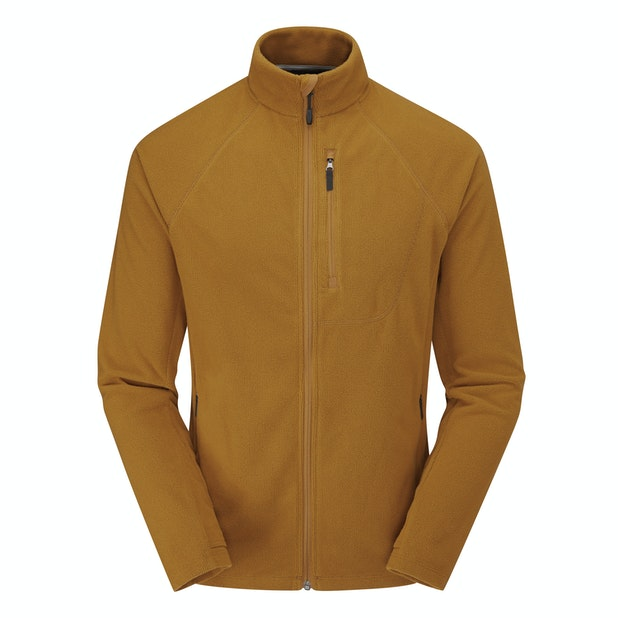 Microgrid Stowaway Jacket - Lightweight, versatile insulating fleece jacket.