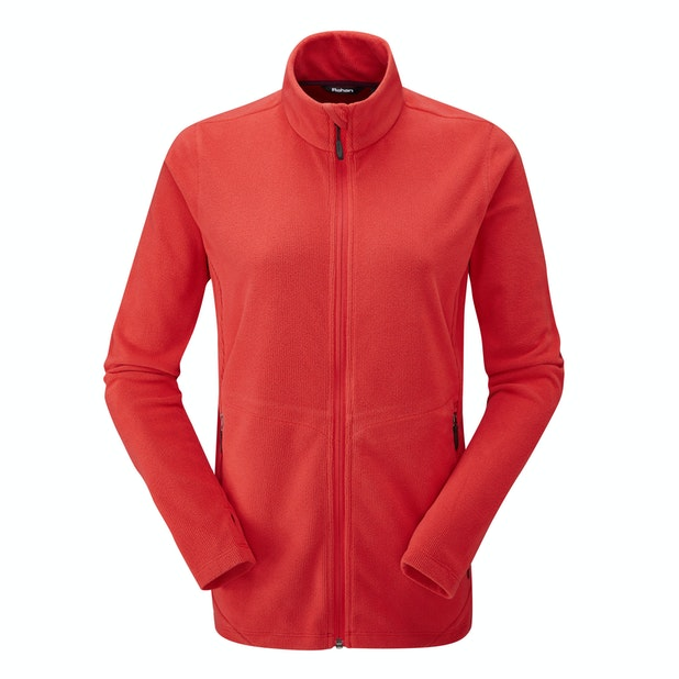 Microrib Stowaway Jacket  - Multi-purpose, technical mid-layer fleece.
