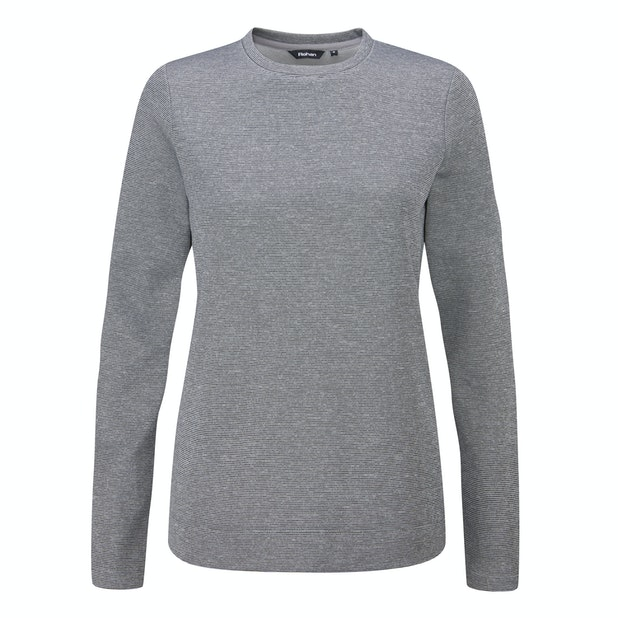 Freya Crew - Crew neck fleece sweater.