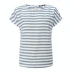 View Malay Top - Chambray Blue Stripe