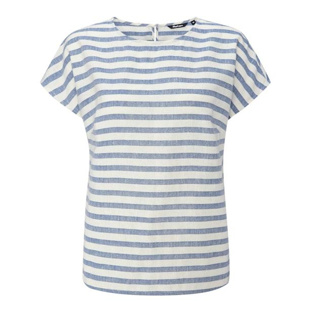 Malay Top - Contemporary, minimalist designed, linen-blend top.