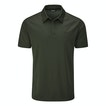 View Core Silver Polo - Evergreen
