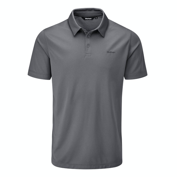 Core Silver Polo - High-wicking performance polo.