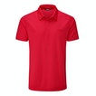 View Core Silver Polo - True Red