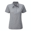 View Serene Polo - Mid Grey Marl