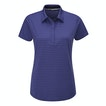 View Stria Polo - Blue Iris Stripe