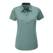 View Stria Polo - Chalk Green Stripe