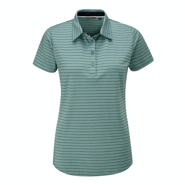 Stria Polo - High-wicking polo for active and everyday wear.