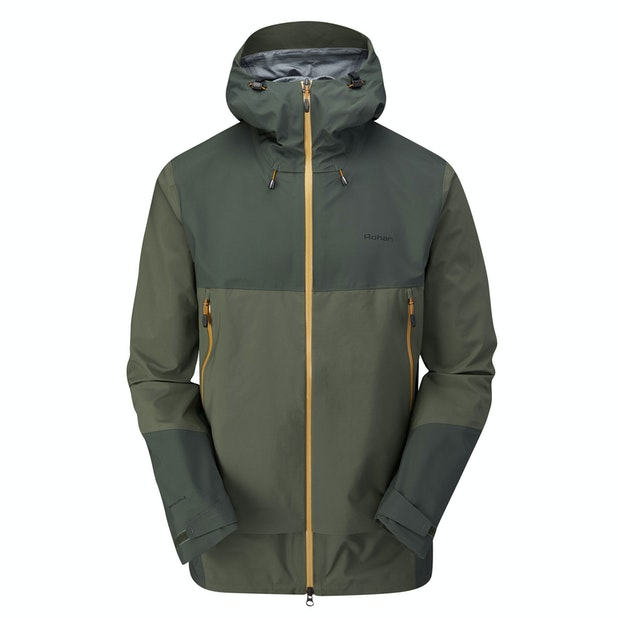 Vertex Jacket - The pinnacle in waterproof protection for active mountain use.