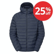 Cold-weather jacket with innovative insulation.