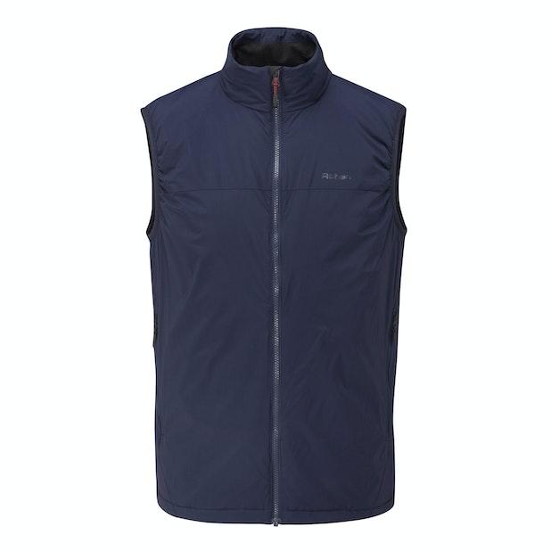 Icepack Vest  - Highly packable, lightweight insulating vest.
