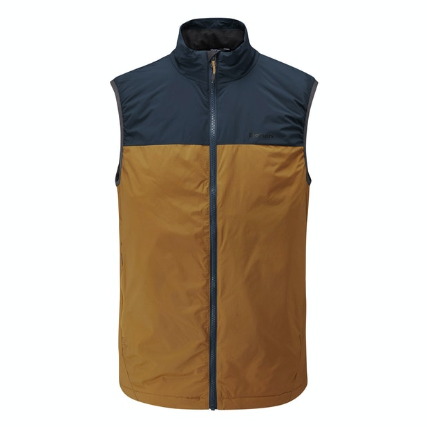 Icepack Vest  - Highly packable, lightweight insulating vest.