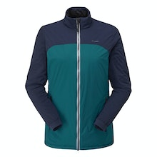 Highly packable, lightweight insulating jacket.