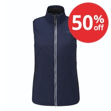 Highly packable, lightweight insulating vest.