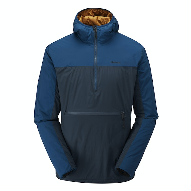 Icepack Overhead  - Highly packable, insulating hooded overhead.
