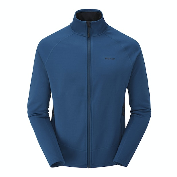 Fellside Jacket  - Active wear, cold-weather mid-layer with stretch.
